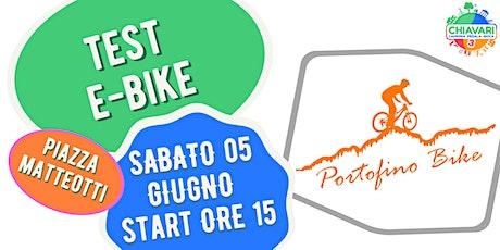 TEST E-BIKE by PortofinoBike biglietti