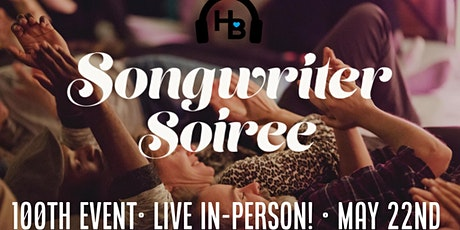 Songwriter Soiree 100! w Heartbeat Silent Disco (In person!) tickets
