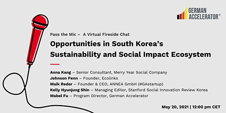 Opportunities in South Korea's Sustainability and Social Impact Ecosystem biglietti