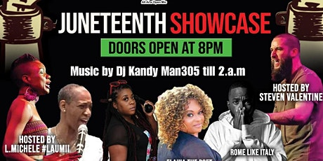 Rock The Mic All Arts JUNETEENTH Showcase tickets