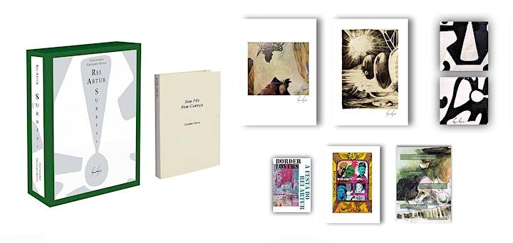 imagem Lançamento do Livro Objeto Artístico - Rei Artur Surreal
