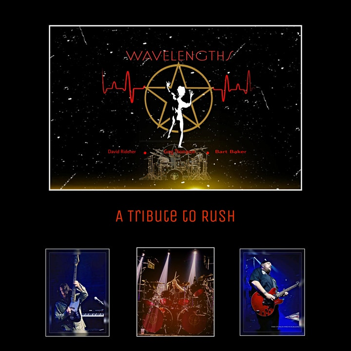 Rock The Beach Tribute Series w/Wavelengths - A Tribute to Rush image