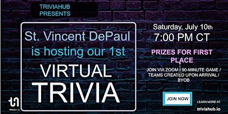 St. Vincent DePaul Online Trivia Party tickets