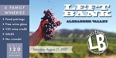 Left Bank Alexander Valley 2021 tickets
