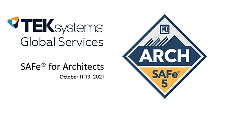 SAFe® for Architects tickets