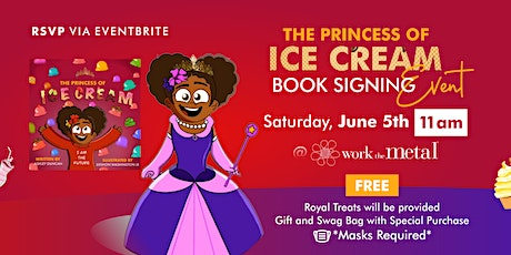 The Princess of Ice Cream Book Signing Event tickets