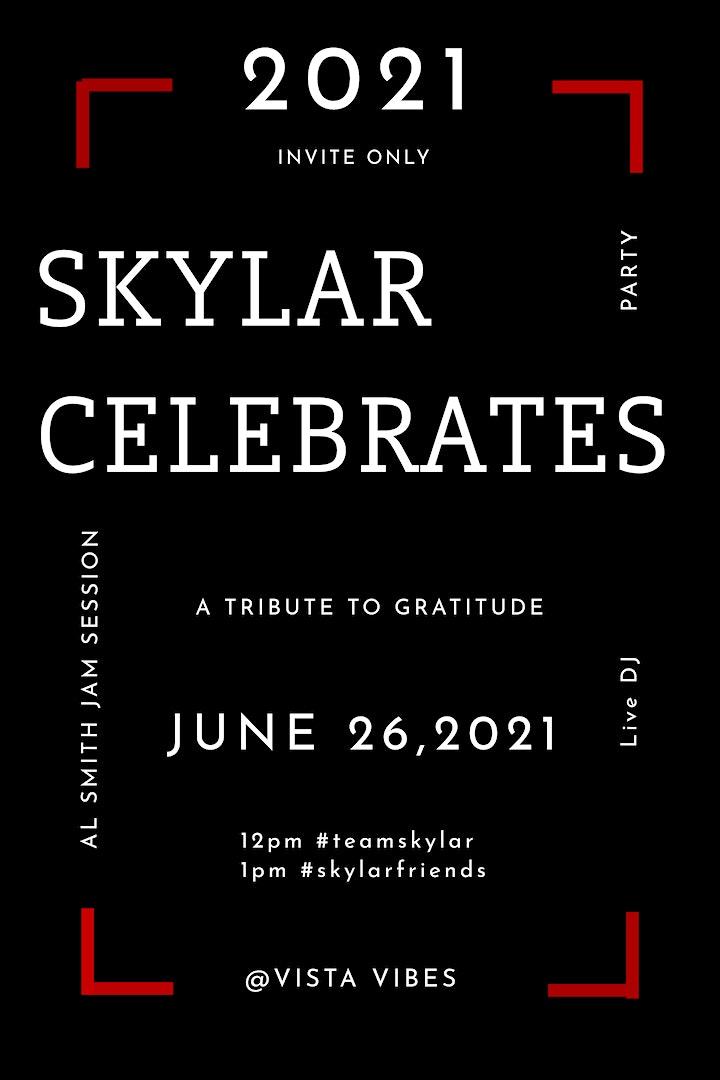 An annual concert. 2021 Skylar Celebrates you. image