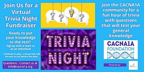 CACNA1A Trivia Night tickets