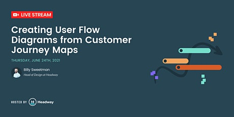 UX Design - Creating User Flow Diagrams from Customer Journey Maps tickets