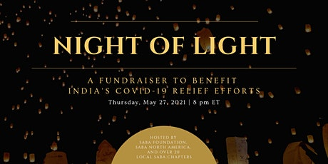 A Night of Light to Benefit India's Covid-19 Relief Efforts tickets