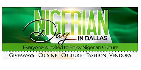 Nigerian Day Festival in Dallas tickets