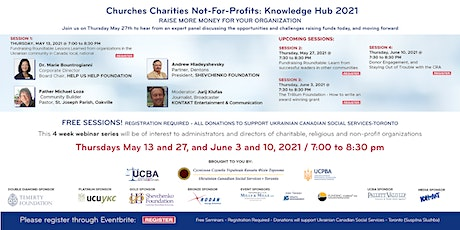 Churches Charities Not-For-Profits: Knowledge Hub 2021 tickets