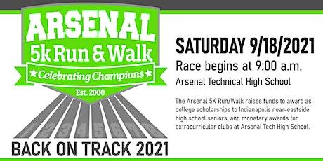 2021 Arsenal 5k Run and Walk tickets