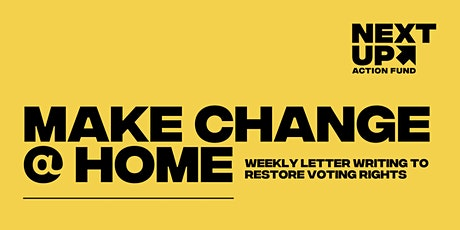 Letter Writing to Lawmakers: Restoration of Voting Rights tickets