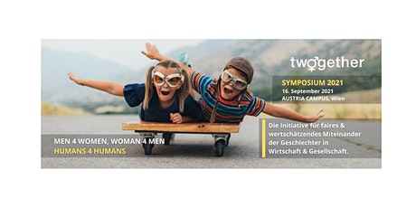 TWOGETHER.WIEN CROSSOVER-SYMPOSIUM – Men4Women, Women4Men - HUMANS4HUMANS Tickets