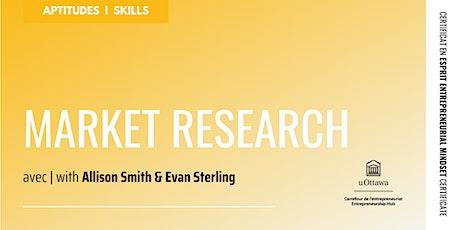 EMC: Market Research tickets