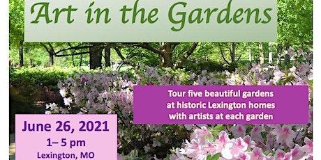 Art in the Gardens tickets