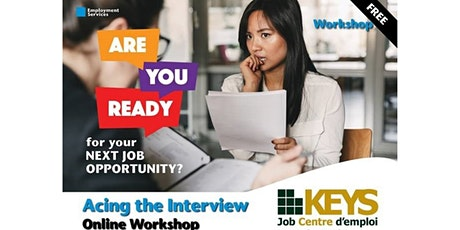 Acing the Interview Virtual Workshop tickets