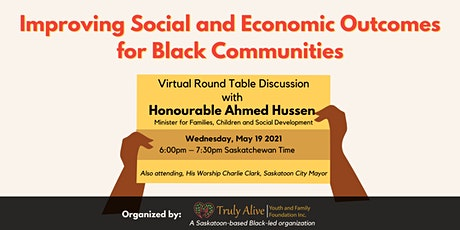 Virtual Round Table Discussion with Honourable Ahmed Hussen tickets