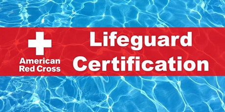 American Red Cross  Lifeguard Certification - Blended Learning tickets