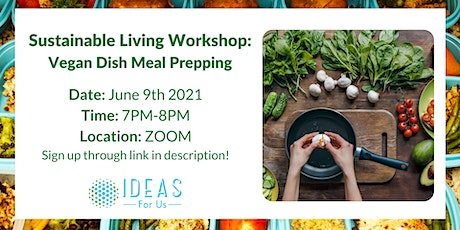 Vegan Meal Prep Workshop tickets