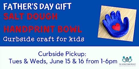 Kids' Craft: Salt Dough Handprint Bowl -- Curbside Supply Bag Pickup tickets