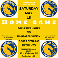 Minneapolis Reign vs. Rochester United tickets