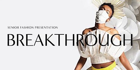 Breakthrough: 2021 Virtual MassArt Fashion Show boletos