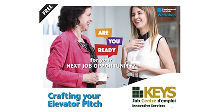 Crafting your Elevator Pitch Virtual Workshop tickets