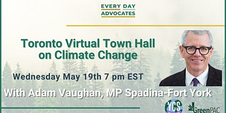 Toronto Virtual Town Hall on Climate Change tickets