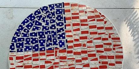 Patriotic Lazy Susan Mosaic 2-day Workshop tickets