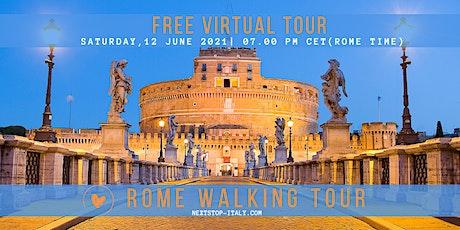 ROME :  Free Virtual Walking Tour tickets