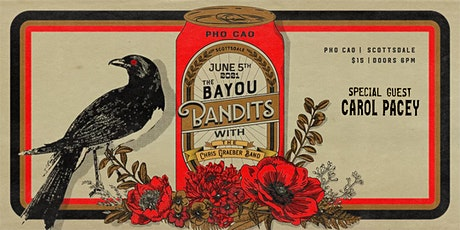 The Bayou Bandits ft. The Chris Graeber Band  and Carol Pacey tickets