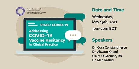 PHAC: Addressing COVID-19 Vaccine Hesitancy tickets