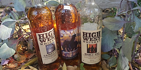 Virtual Whiskey Tasting High West's whiskies challenge tickets