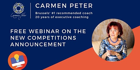 Free Webinar on the New Competitions Announcement! tickets