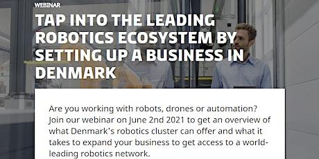 For US robotics companies: Tap into the world's leading robotics ecosystem tickets