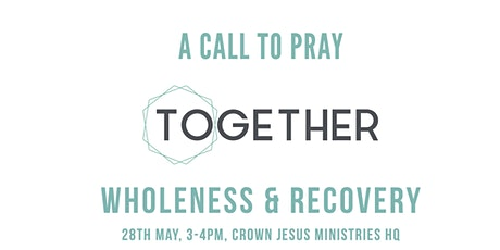 Prayer for Our Young People: WHOLENESS & RECOVERY tickets