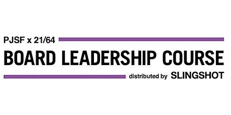 10 Best Practices of Effective Board Leadership tickets