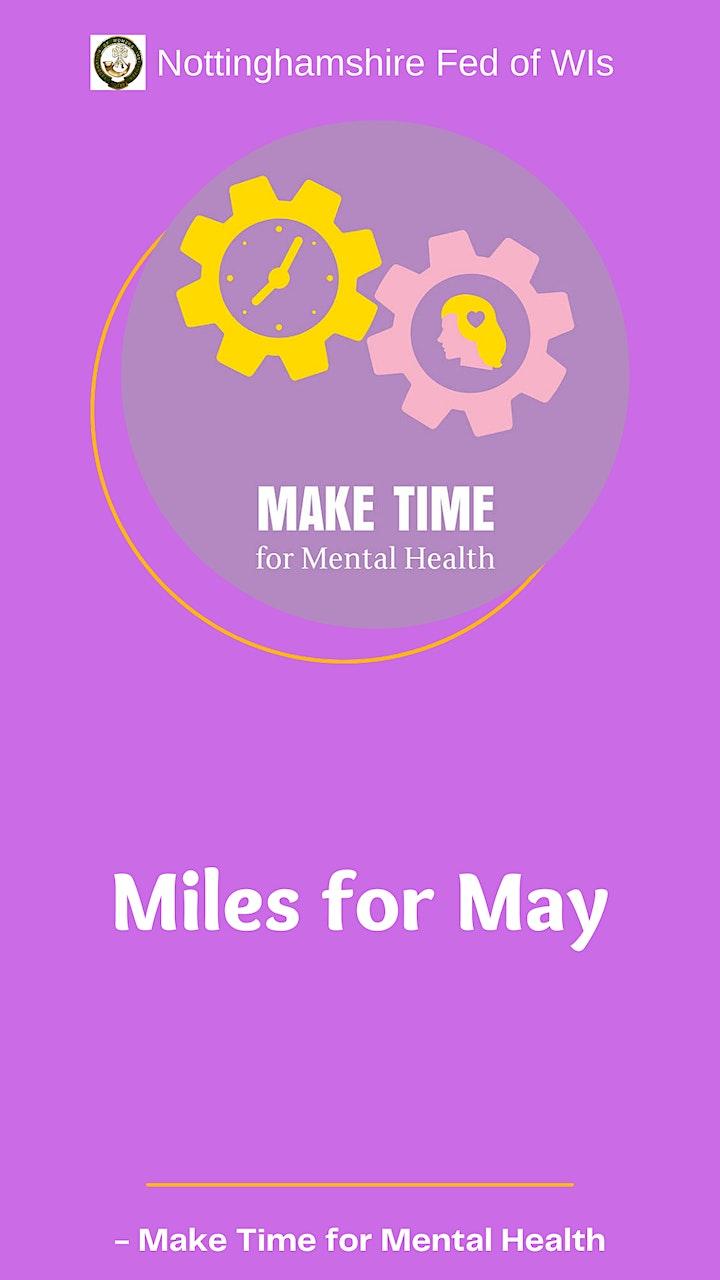 "'WALKING CHALLENGE' with Deke Hardman Part of ""Miles for May"" image"