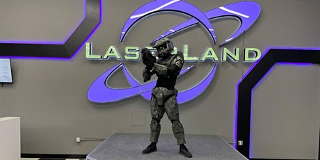 First official Laser Land Cosplay lock-in tickets