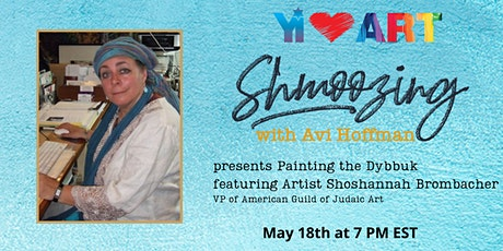Shmoozing with Avi featuring Shoshannah Brombacher tickets
