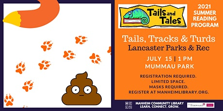Tails, Tracks and Turds presented by Lancaster Parks & Rec tickets