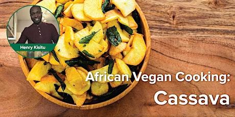 African Vegan Cooking:  Cassava tickets