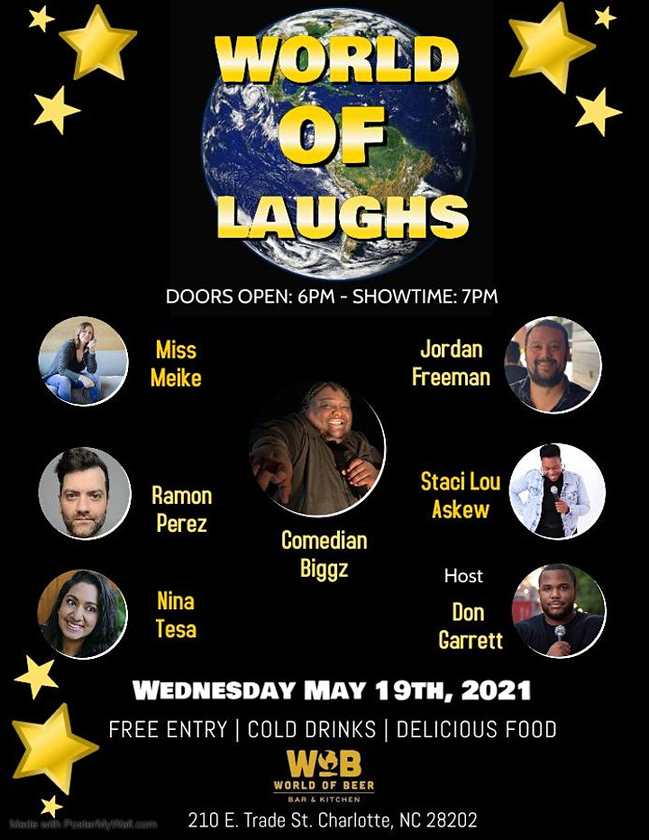 World of Laughs Comedy Series! image