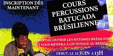 Cours de Percussions Brésiliennes tickets