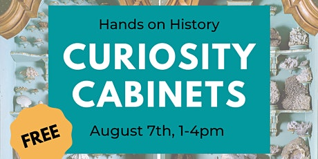 Hands on History: Curiosity Cabinets tickets
