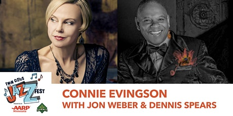 TCJF - Connie Evingson and Jon Weber Featuring Dennis Spears tickets