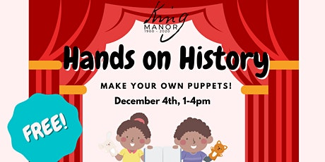 Hands on History: All the World's A (Puppet) Stage tickets