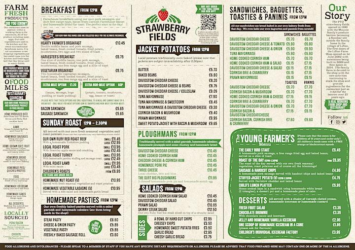 Pi Singles - Sunday Roast at Strawberry Fields image